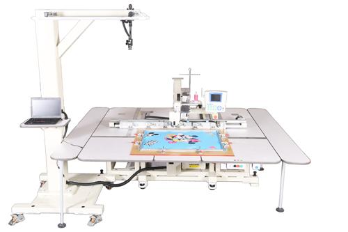 智能图形识别全自动缝纫机