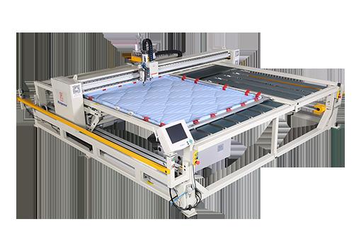 框式电脑绗缝机(撑布带)