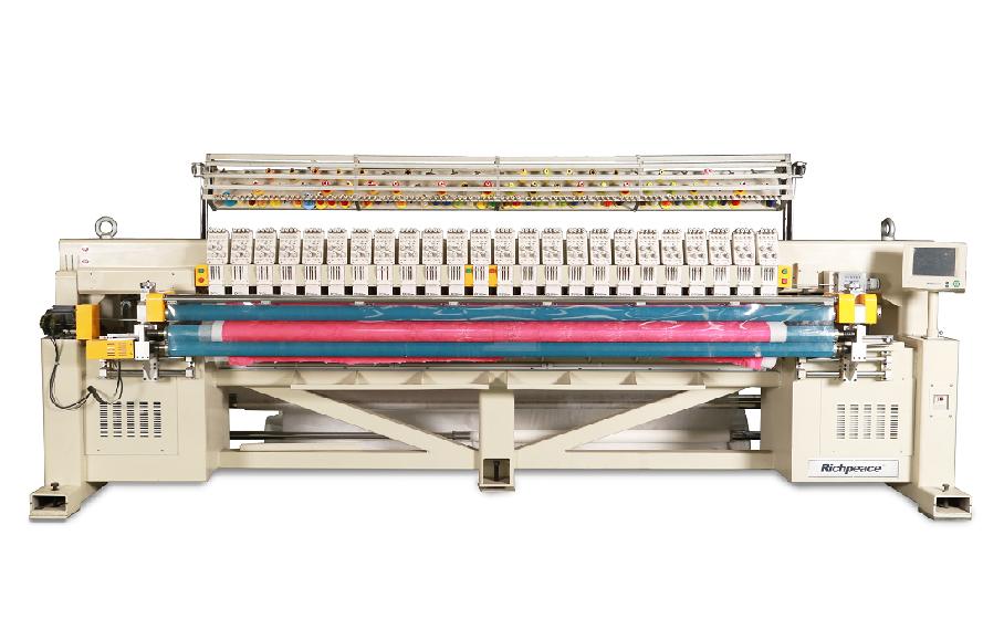 多色单幅电脑绗绣机