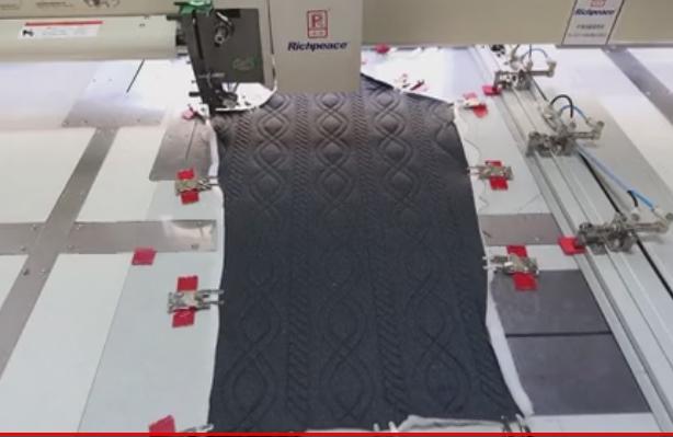 富怡全自动缝纫机-针织面料缝制