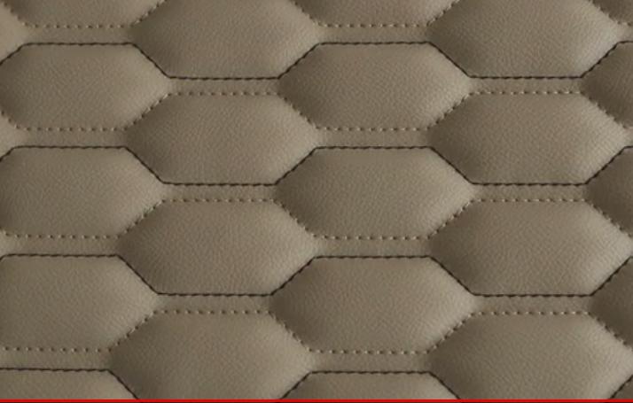 富怡全自动多色线缝纫机汽车坐垫制作应用