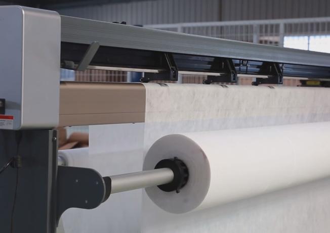 富怡3米家纺绘图仪打印无纺布面料