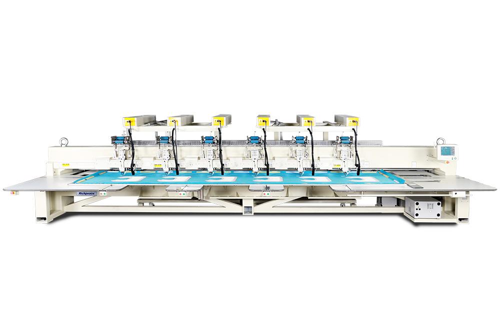 家纺六头激光布线机
