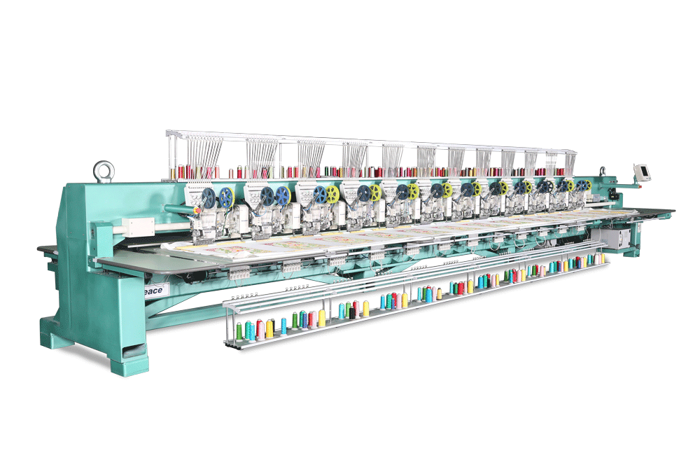 Richpeace mixed towel embroidery machine