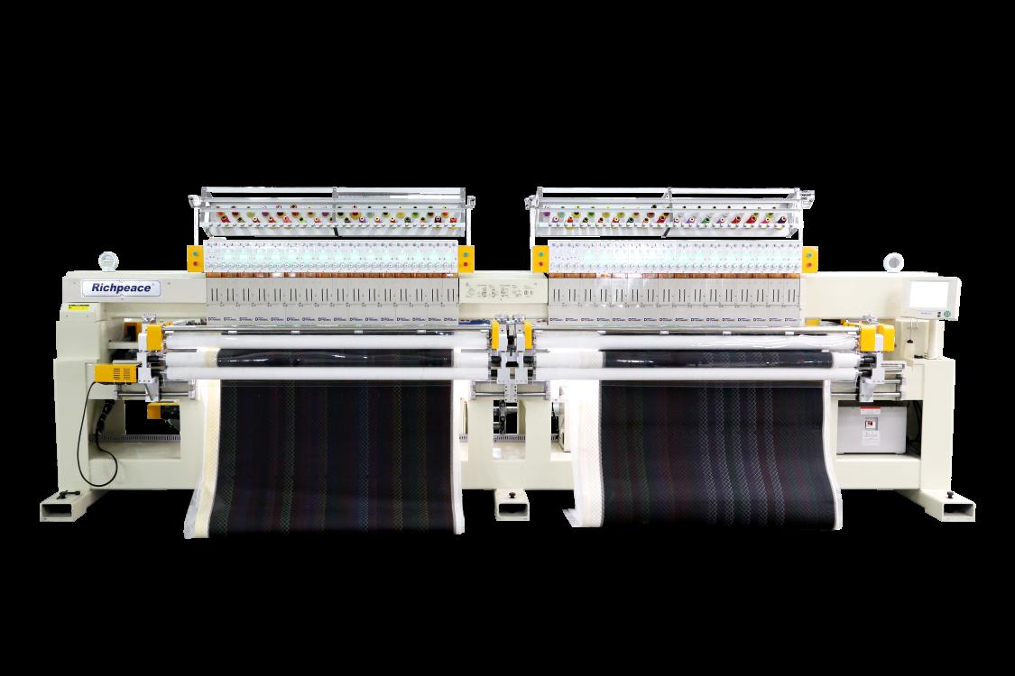单色双幅电脑绗绣机