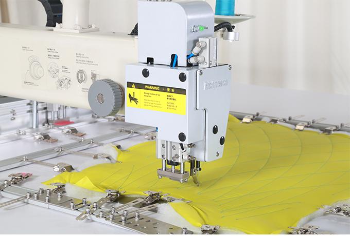 富怡全自动服装专用模板缝纫机