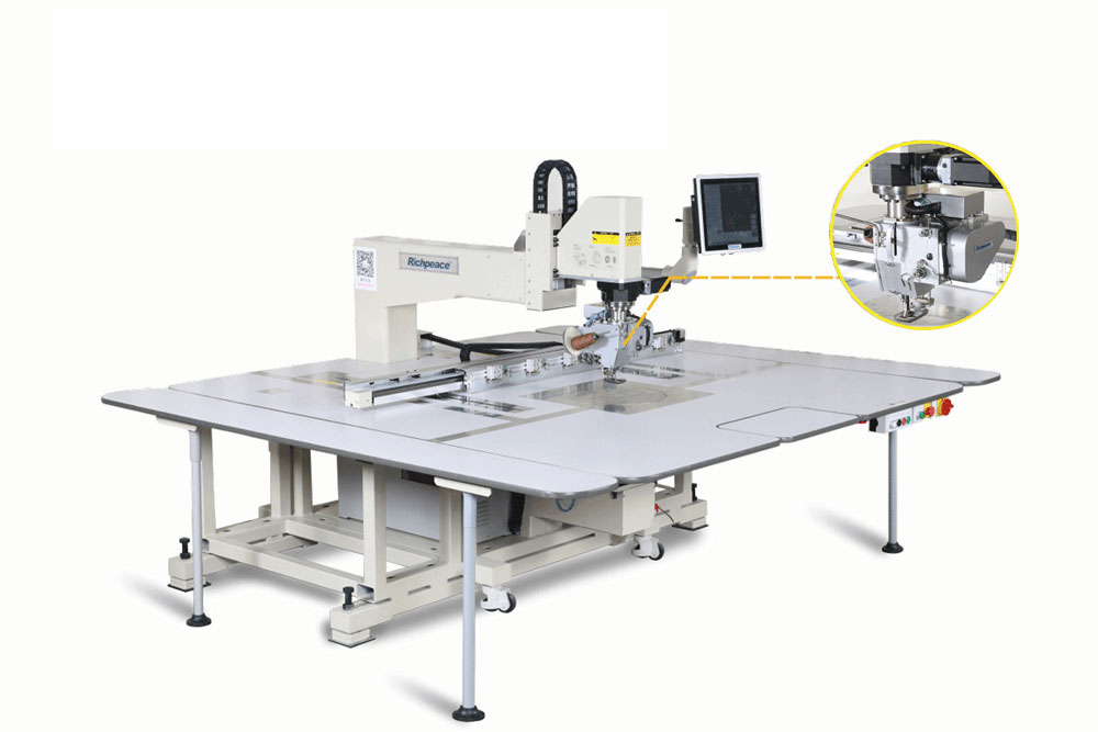 全自动360单针缝纫机