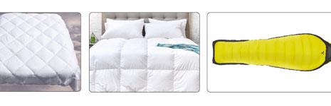 富怡大幅面精密绗缝机-睡袋机应用范围
