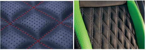 冲缝一体机冲孔皮革缝样品应用范围