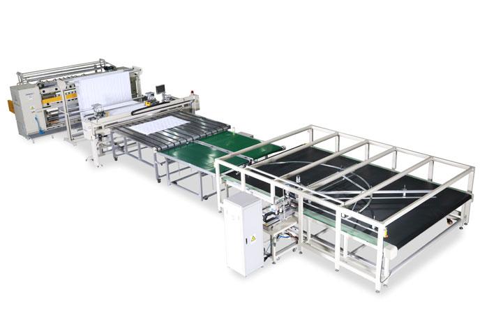 包边被芯自动化生产线