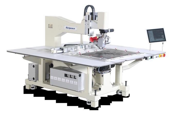 任意转单针缝纫机-平梭皮革机