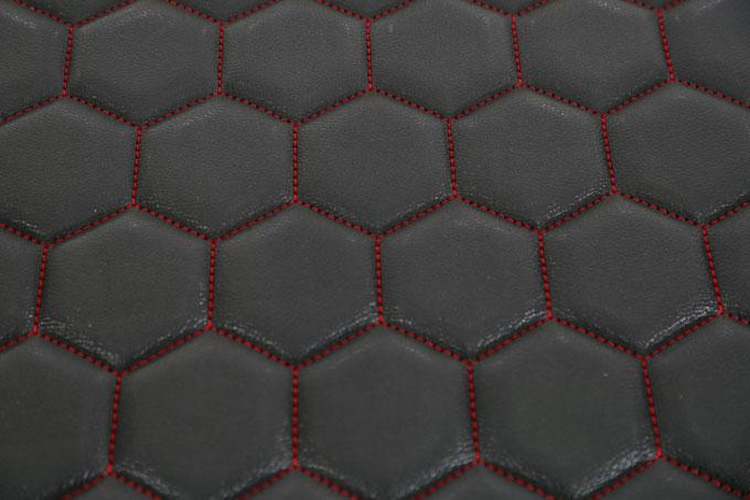 富怡全自动四头缝纫机-皮革专用缝纫机样品