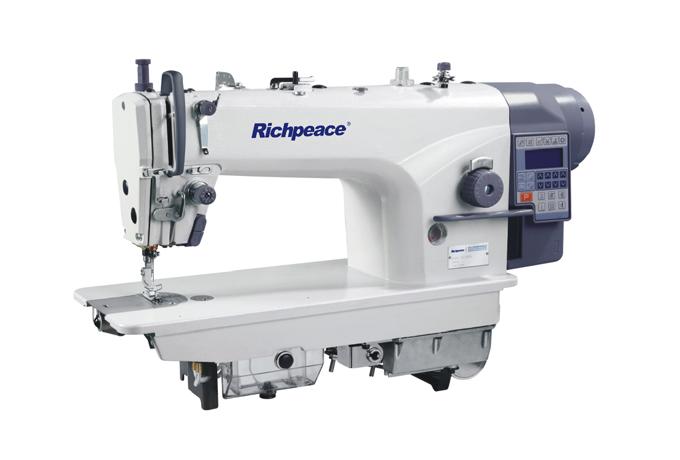 RP898A系列一体型微油自动剪线平缝机(电磁铁控制/电机控制送料)