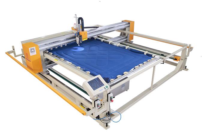 框式单针绗缝机-铝合金龙门