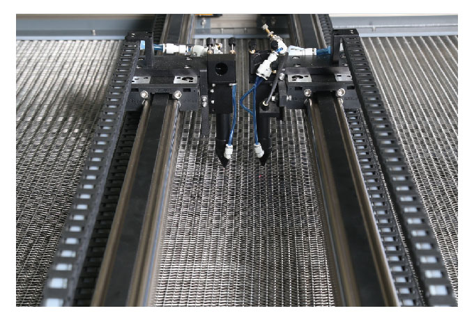 Double Beams Asynchronous Automatic Feeding Laser Engraving and Cutting Machine
