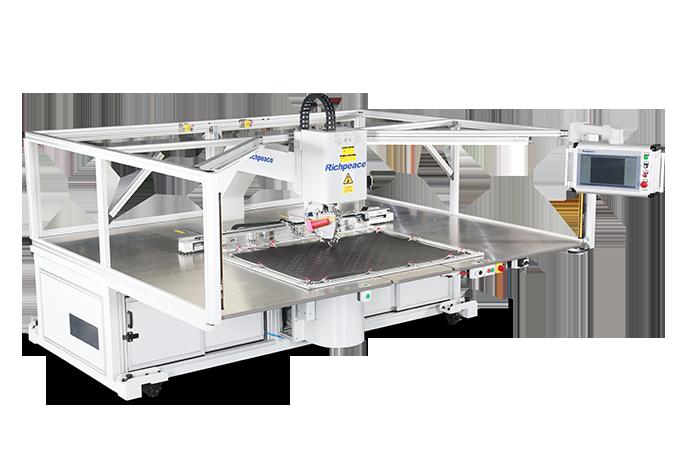 全自动360单针旋转缝纫机