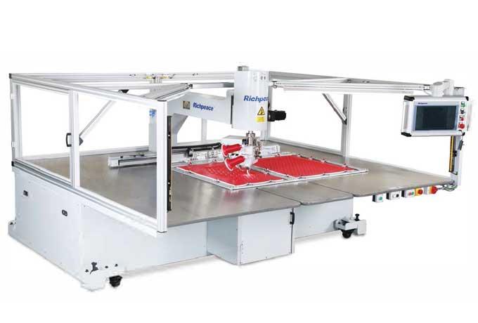 双针任意转全自动缝纫机