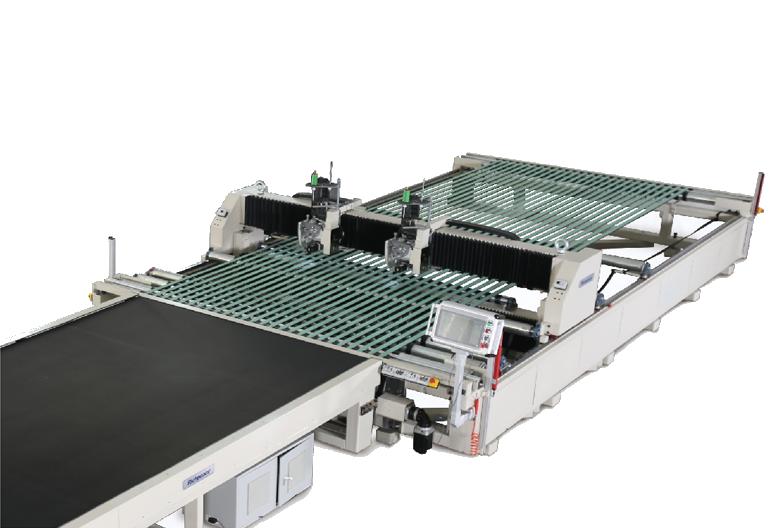风力发电叶片专用自动缝纫机