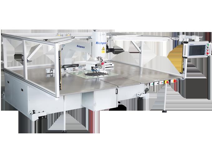 单针任意转全自动缝纫机