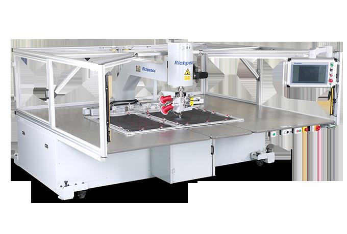 双针针距可调任意转全自动缝纫机