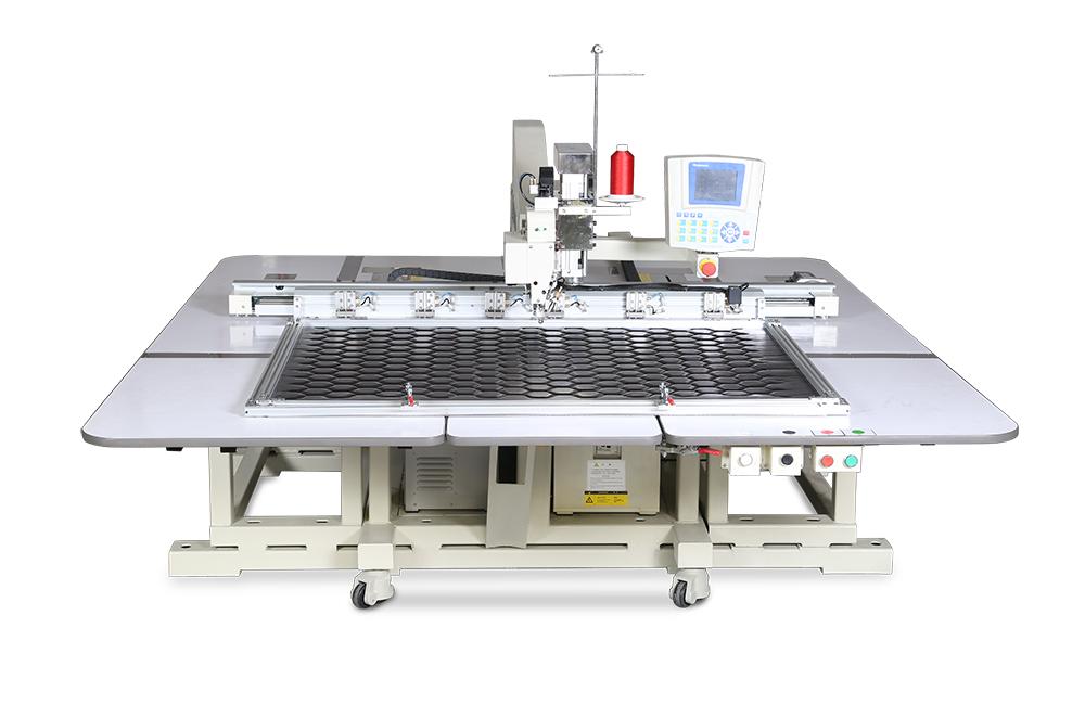 富怡全自动单头悬臂式模板缝纫机