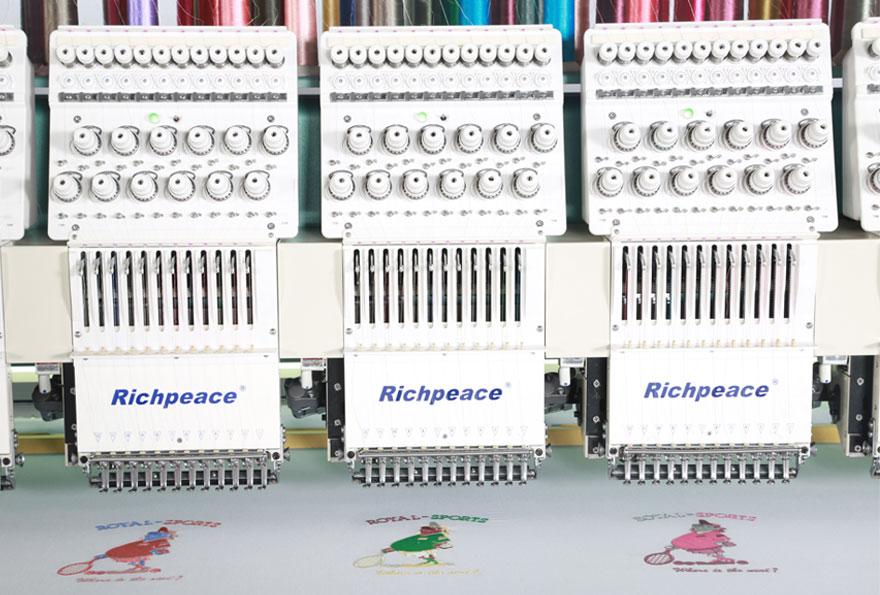 富怡电脑精密绣花机