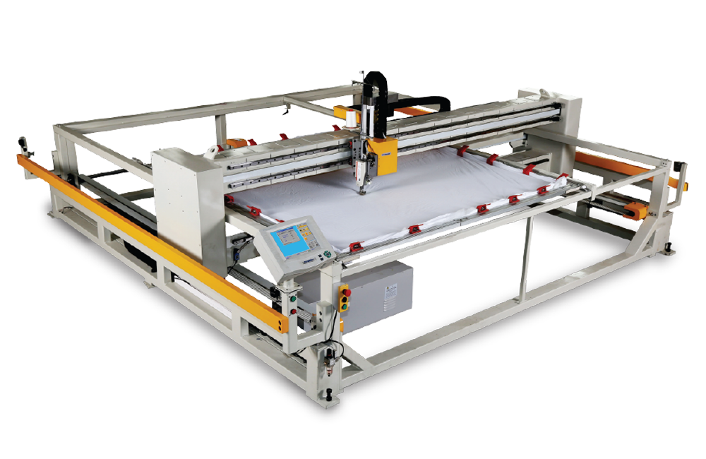 富怡框式电脑绗缝机(升降机头)