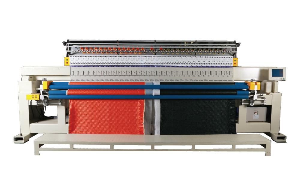 富怡单色单幅电脑绗绣机