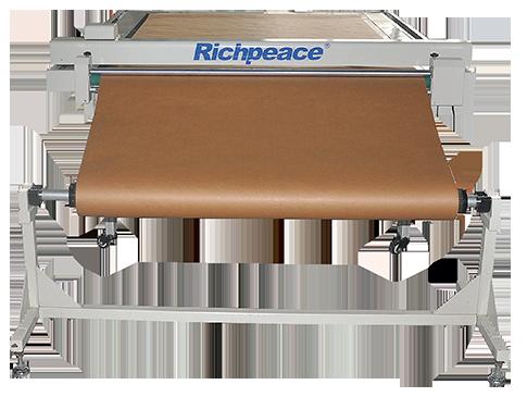 富怡平板切割机(平板喷墨切割一体机)送纸系统