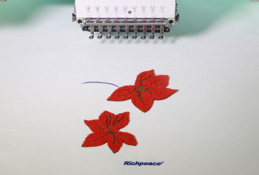 富怡电脑混合毛巾绣花机