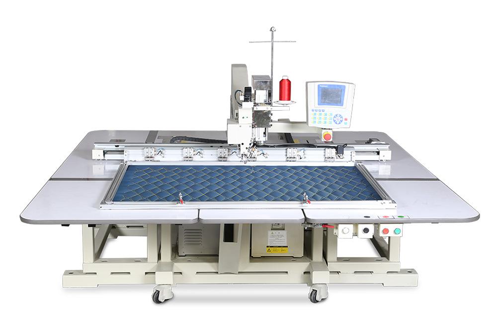 富怡全自动单头悬臂式缝纫机(厚料升降机头)
