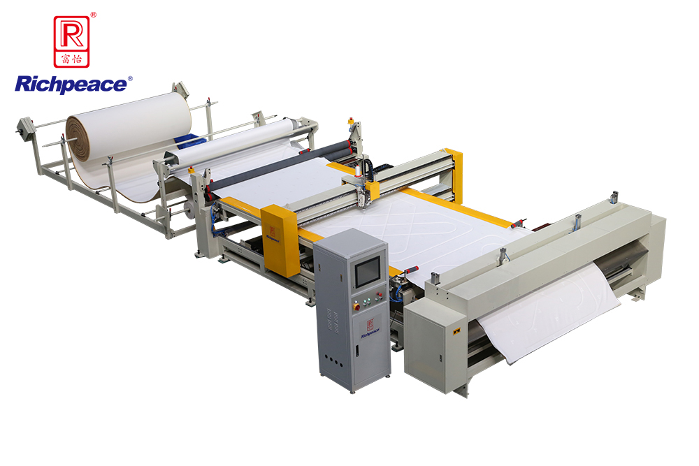 Richpeace Computerized Automatic Quilting Machine (Continuous Feeding)