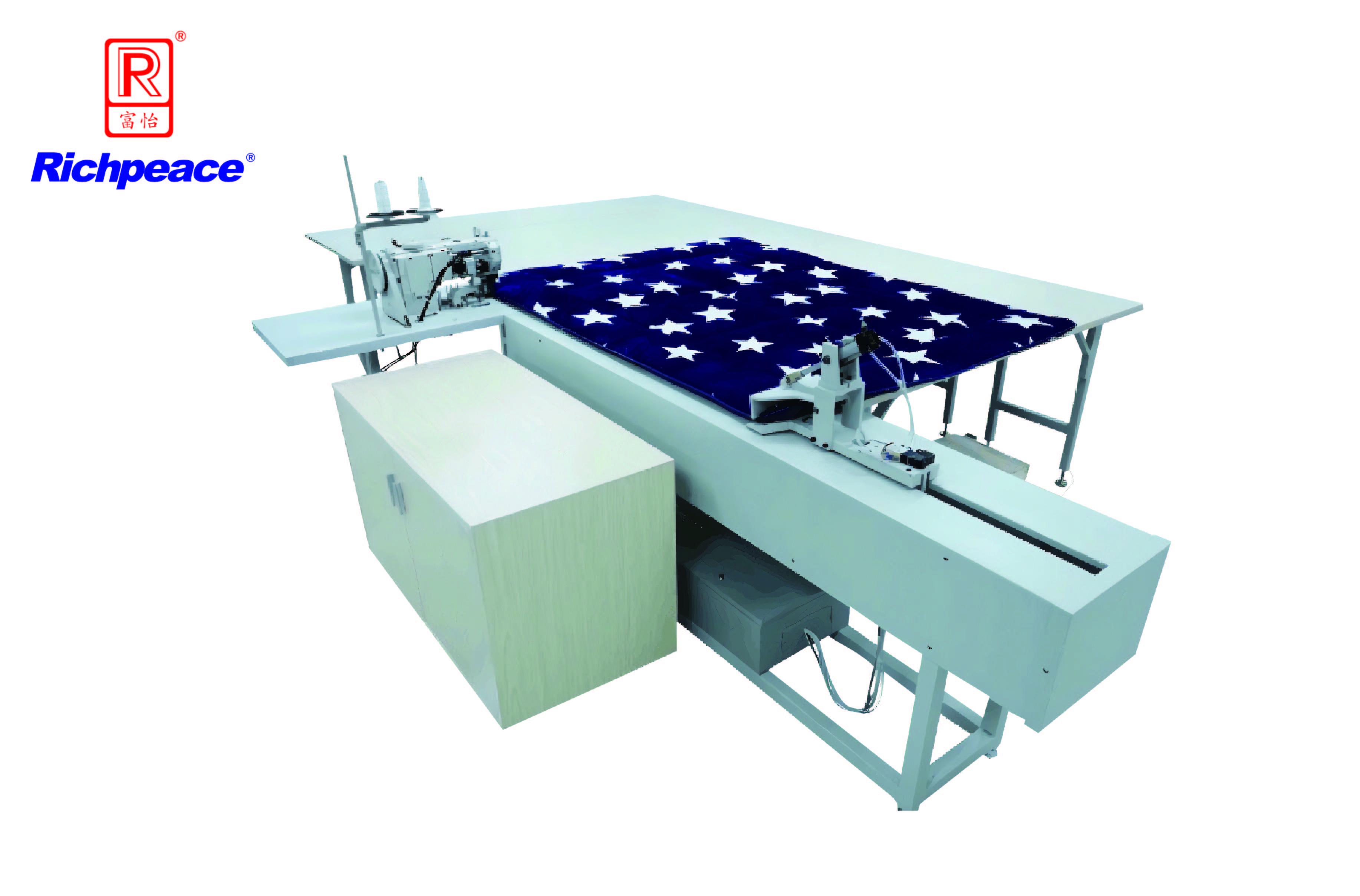 富怡床垫包边牵引缝制工作站