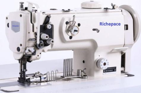 单针包边综合送料缝纫机