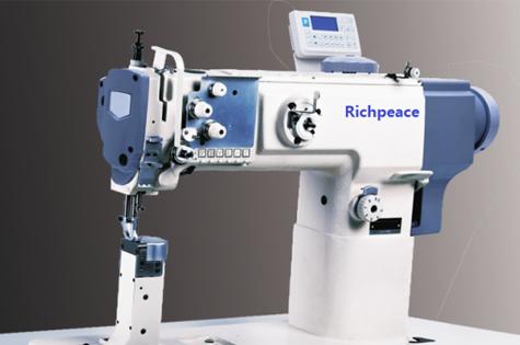 直驱柱式单针综合送料缝纫机