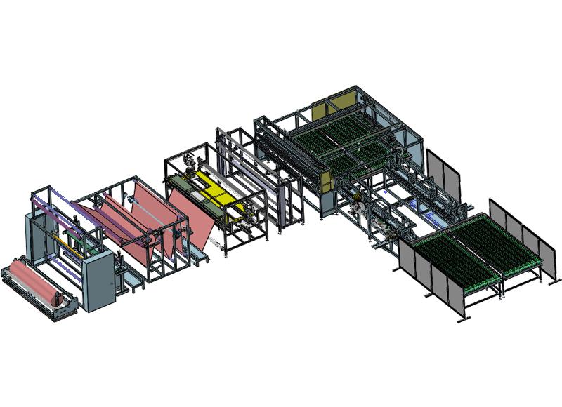 富怡床单自动化生产线