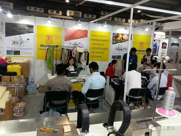 【展会动态】上工富怡再度亮相印度2019服装技术博览会